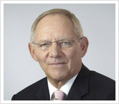 SWolfgang Schäuble, Federal Minister of Finance and member of the German Bundestag