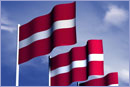 Latvia flags © Thinkstock.com