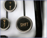 Shift button © Thinkstock.com