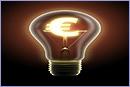 Light bulb with Euro sign © IStockphoto.com