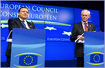 Herman VAN ROMPUY, President of the European Council (right) - José Manuel BARROSO, President of the European Commission © European Union, 2011