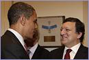 Barack Obama, on the left, and José Manuel Barroso © European Union, 2011