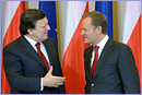 President of the EC, Mr. Barroso and Polish Prime Minister , Mr. Tusk  © European Union 2011