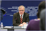 Press conference by Olli Rehn, Vice President of the EC in charge of Economic and Monetary Affairs and the euro on the EC's first Alert Mechanism Report (AMR) © European Union, 2012