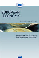 Scoreboard for the surveillance of macroeconomic imbalances ©European Union, 2012