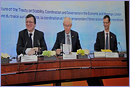 José Manuel Barroso, Herman Van Rompuy & Uwe Corsepius © European Union, 2012