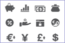 Currency icons © Istockphoto
