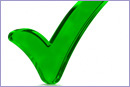 Green Check Mark Symbol © iStockphoto