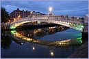 The Ha'penny bridge in Dublin © Thinkstock.com