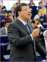 Jose Manuel Barroso at European Parliament/ Strasbourg