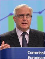 Press conference Rehn © European Union, 2012
