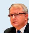 Olli Rehn, European Commission Vice-President for Economic and Monetary Affairs and the Euro