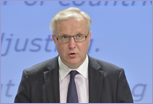 Olli Rehn, Commission Vice-President for Economic and Monetary Affairs and the Euro © European Union 2013