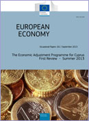 The Economic Adjustment Programme for Cyprus