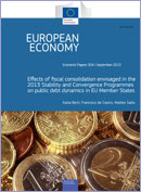 Effects of fiscal consolidation envisaged in the 2013 © European Union 2013