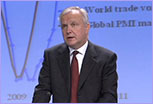 Olli Rehn speaking © European Union
