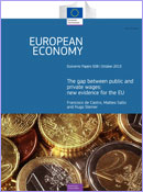 The gap between between public and private wages: new evidence for the EU © European Union
