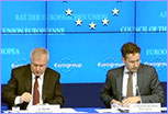 Jeroen Dijselbloem at Eurogroup Press Conference © European Union