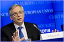 Mr Rimantas SADZIUS, Lithuanian Minister for Finance © European Union