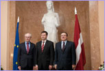 Visit of José Manuel Barroso, President of the EC, to Latvia © European Union