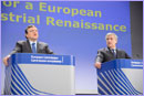 President Barroso and Vice-President Tajani © European Union