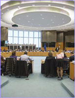 Council meeting room © The Council of the European Union