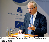 Commissioner Rehn at the Euro Conference tallinn 2010