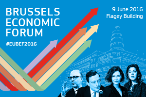 Registrations for the Brussels Economic Forum 2016 are now open.