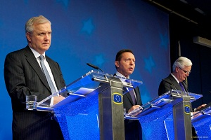Vice-President Rehn at ECOFIN press conference