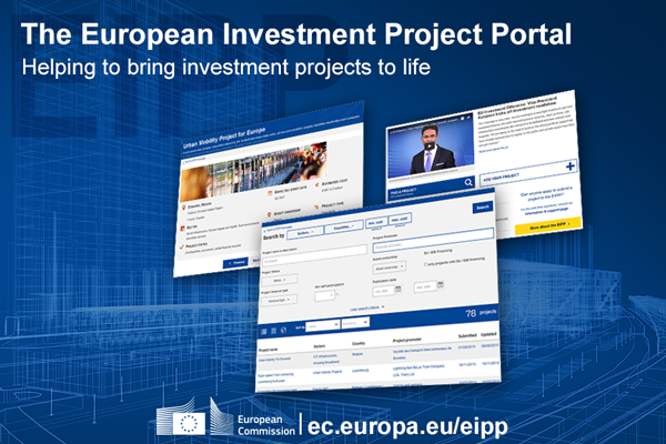 Submission of projects for the European Investment Project Portal (EIPP) is now open