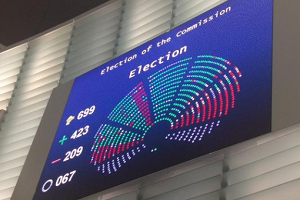 European Parliament elects Juncker Commission