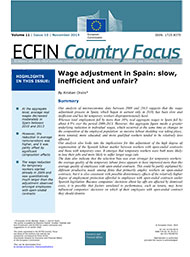 10 - Wage adjustment in Spain: slow, inefficient and unfair?