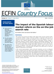 7 - The impact of the Spanish labour market reform on the on-the-job search rate