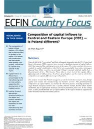 8 - Composition of capital inflows in Central and Eastern Europe (CEE) - is Poland different?