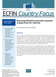 9 - Securing Poland's economic success: A good time for reforms
