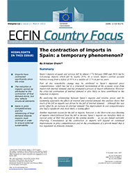 The contraction of imports in Spain: a temporary phenomenon?
