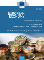 545 - The fiscal effects of work-related tax expenditures in Europe - Salvador Barrios, Serena Fatica, Diego Martinez, Gilles Mourre