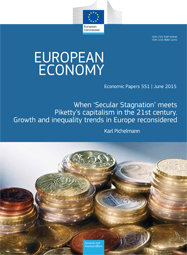 551 - When 'Secular Stagnation' meets Piketty's capitalism in the 21st century. Growth and inequality trends in Europe reconsidered - Karl Pichelmann