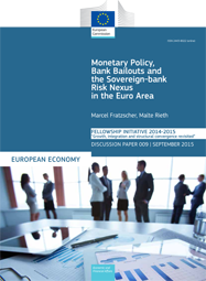 Monetary Policy, Bank Bailouts and the Sovereign-Bank Risk Nexus in the Euro Area