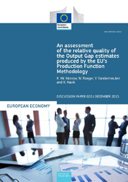 An assessment of the relative quality of the Output Gap estimates produced by the EU's Production Function Methodology