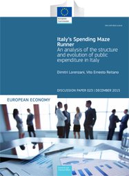 Italy's Spending Maze Runner – An analysis of the structure and evolution of public expenditure in Italy