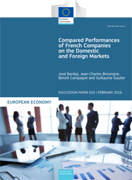 Compared Performances of French Companies on the Domestic and Foreign Markets