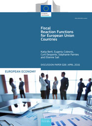 Fiscal Reaction Functions for European Union Countries