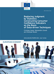 Replacing Judgment by Statistics: Constructing Consumer Confidence Indicators on the Basis of Data-driven Techniques
