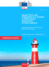 House Prices and Indebtedness in Sweden: a Model-based Assessment  of Policy Options