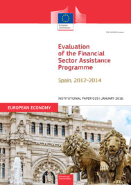 Evaluation of the Financial Sector Assistance Programme. Spain, 2012-2014