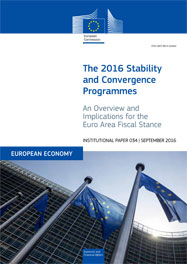 The 2016 Stability and Convergence Programmes: An Overview and Implications for the Euro Area Fiscal Stance