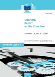 Quarterly Report on the Euro Area (QREA), Vol. 15, No. 3 (2016)