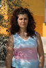 Koulla Aggelou, 38, works as a cleaner in Augorou, Cyprus.