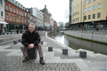 Mogens Lausen, 44, learned how to set up a career-coaching company in Aarhus, Denmark.